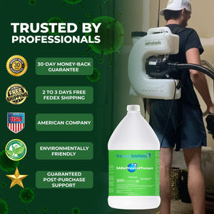 Petra Electric Fogger Atomizer Backpack Sprayer - 4 Gallon Mist Blower with Extended Commercial Hose