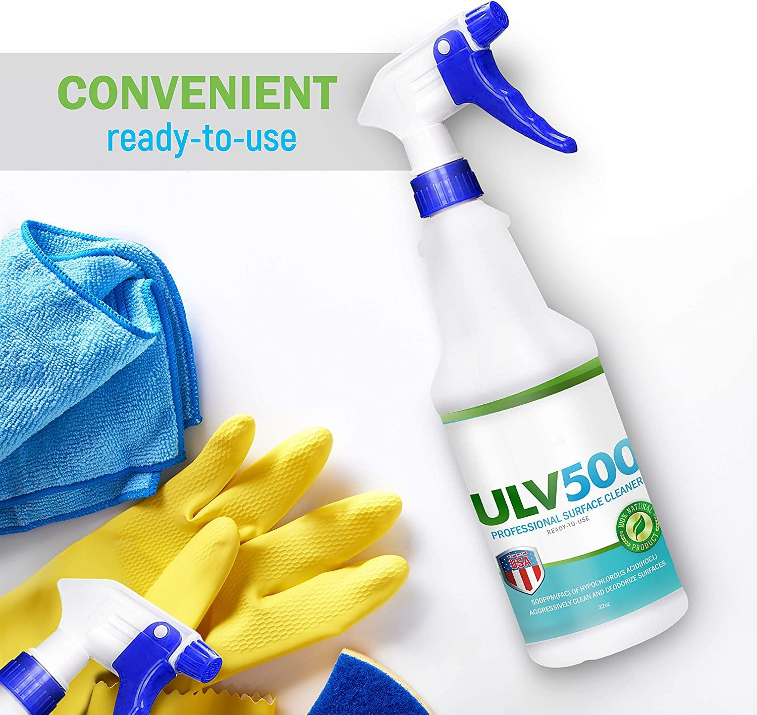ULV500 Professional Surface Cleaner (HOCl) 32oz