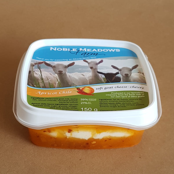 Apricot Soft Goat Cheese (Chevre)