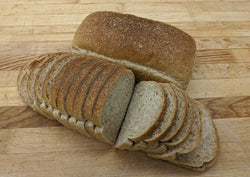 70% Whole Wheat Bread, sliced