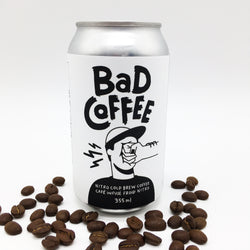 BAD Coffee NITRO in a can