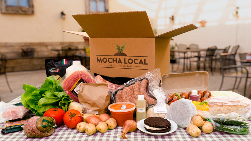 Local Essentials Box For Four People