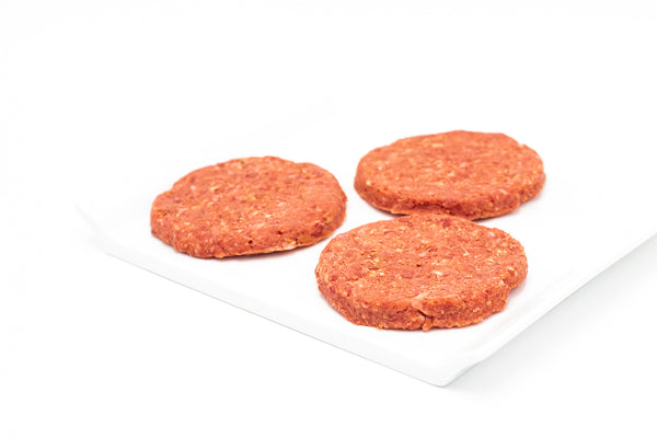 Dutch Grill Beef Hamburger Patties, Plain (gluten free)