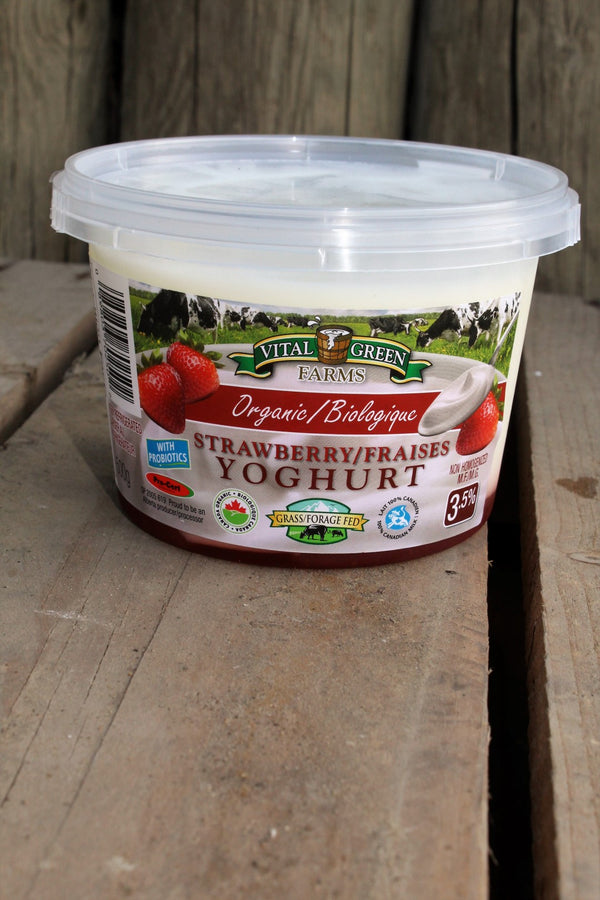 Organic Strawberry Yogurt