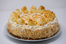 Coconut Caramel Cheesecake