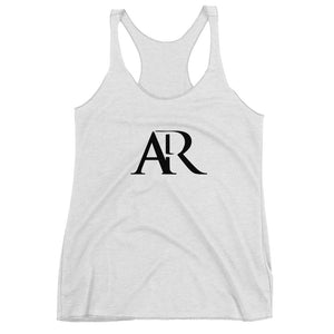 AR Women's White Tank