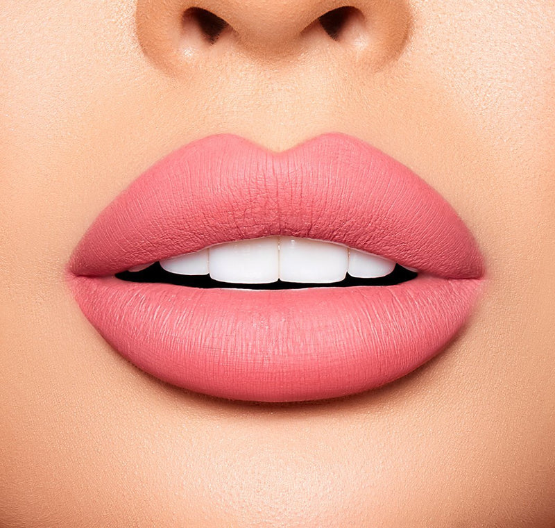 BERRIES & CREAM MATTE LIQUID LIPSTICK: CREAMY PINK