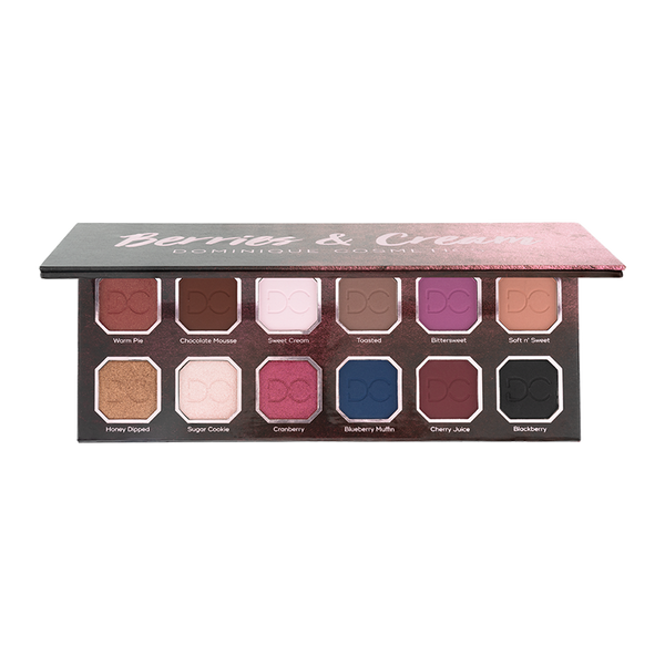 Berries and Cream palette opened to reveal shades