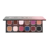 Opened Berries and Cream Palette showcasing shades