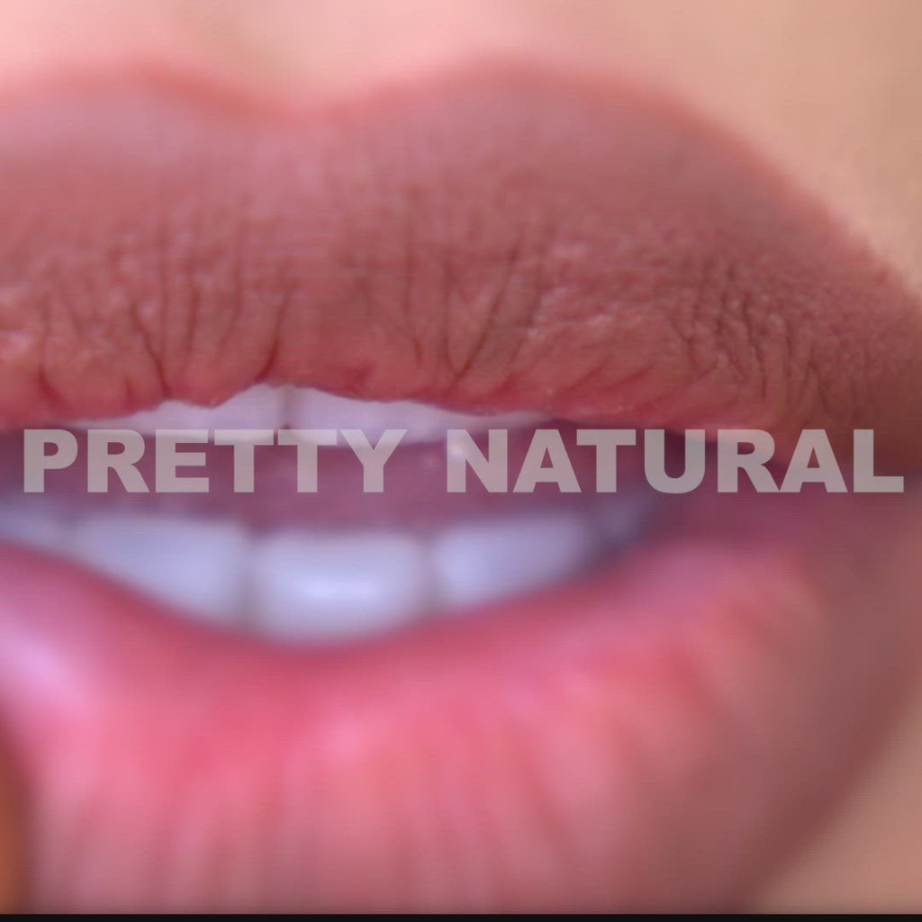Video tutorial of shade Pretty Natural swatched on lips