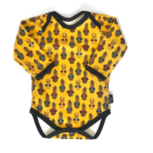 Unisex Punchy Pineapple Bodysuit READY TO SHIP!