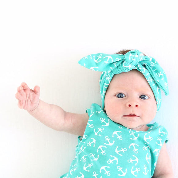 Children's Jersey Knotted Headband