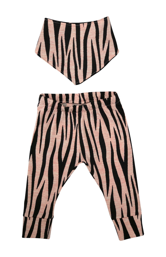 Pink Zebra Leggings