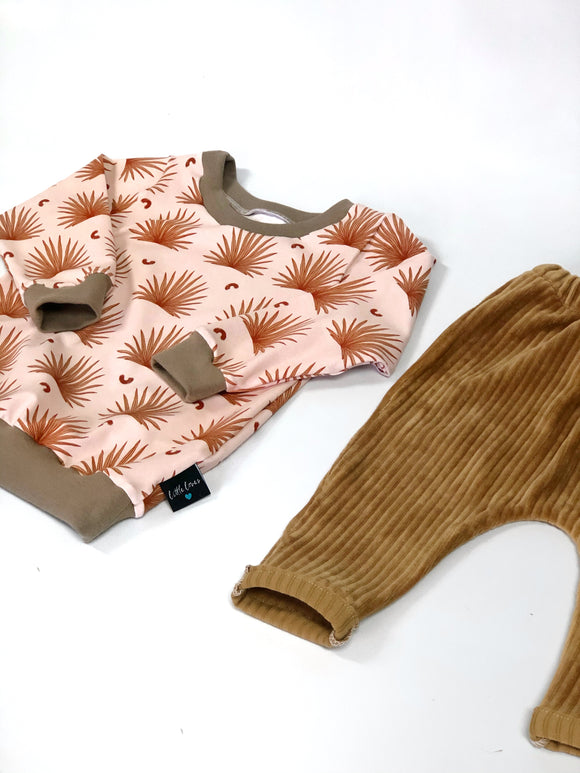 Desert Palms lightweight jumper