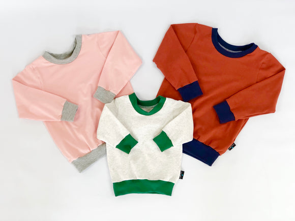 Colour block lightweight jumper (CREATE YOUR OWN)