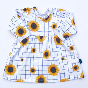 Sunflower Smock Dress