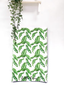 Banana Leaf anti roll changing mat ( pre order end of feb)