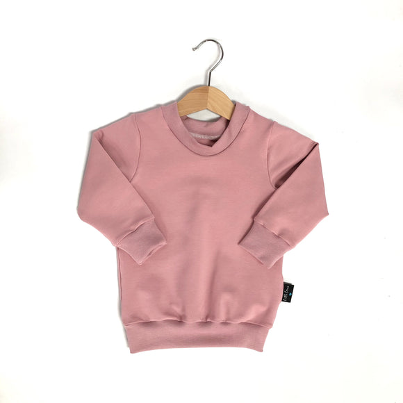 Little Earthlings Blush Pink Sweater (free name personalisation)