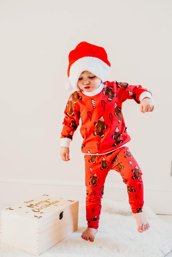 Christmas Gingerbread Man Leggings