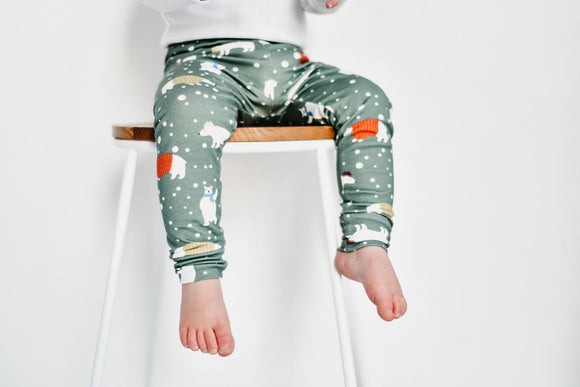 Unisex Polar Bear Leggings