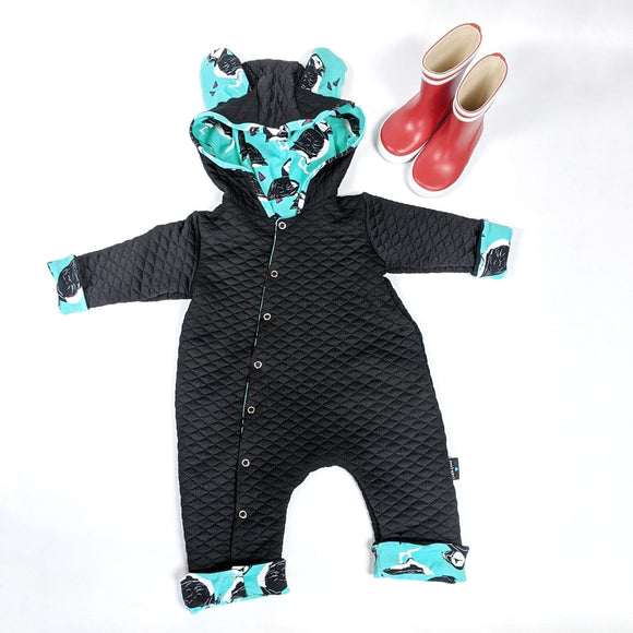 Puffin Outdoor Onesie Pramsuit