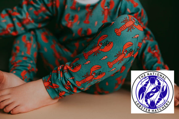 Santa Claws Lobster Leggings ( a collaboration with Padstow Lobster Hatchery)