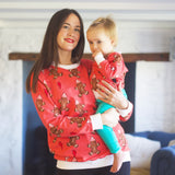 Women's Christmas Gingerbread Man Jumper