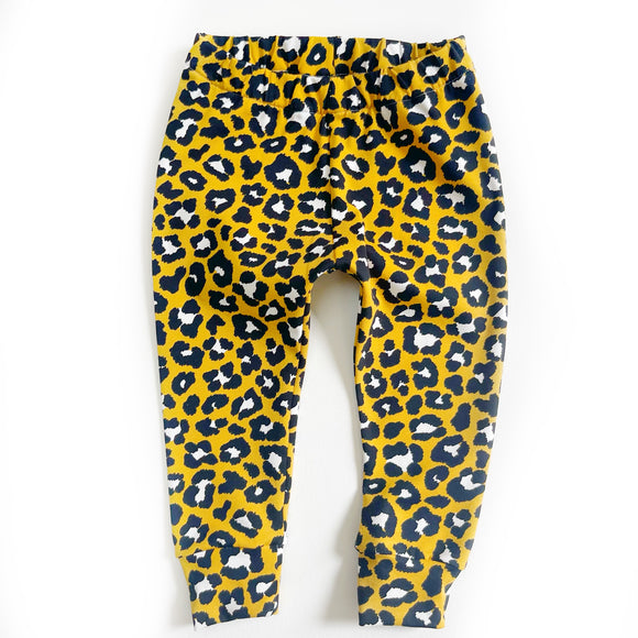 Mustard Leopard Leggings