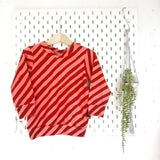Red stripe jumper