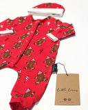 Christmas Gingerbread Man babygrow