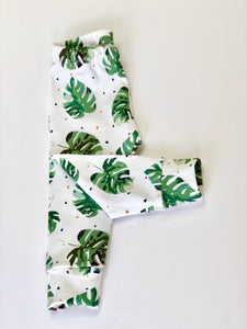 Monstera Leaf Leggings