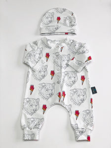 Bears & Bolts babygrow