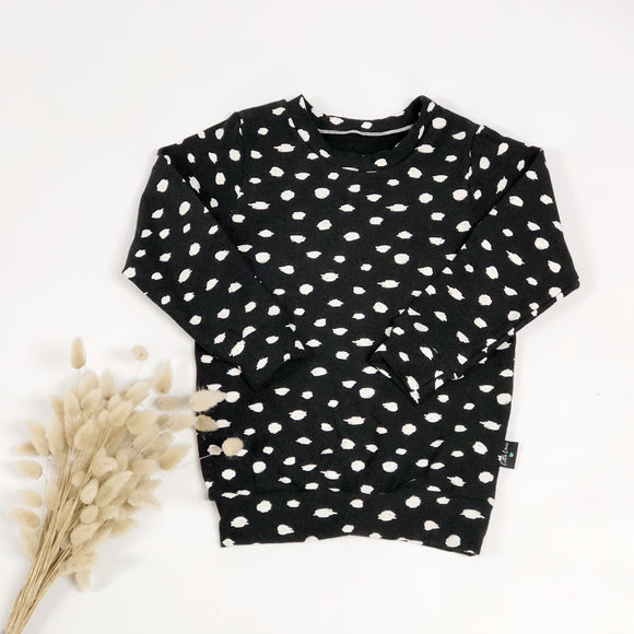 Black Spotty Sweater