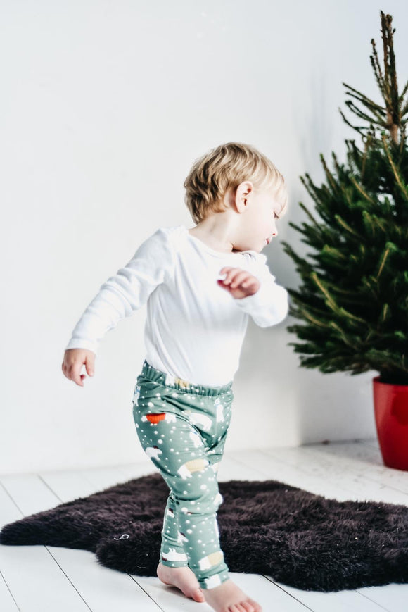 Unisex Christmas Bear Leggings
