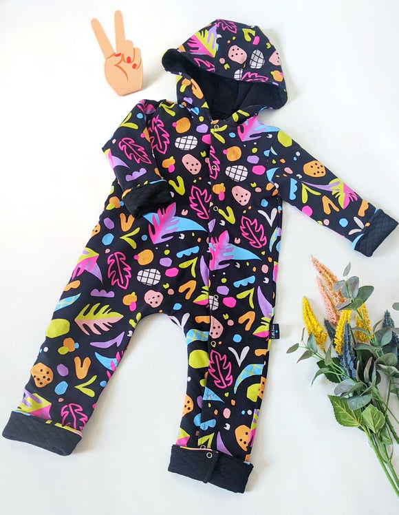 Stranger Things  Reversible Outdoor Onesie Pramsuit