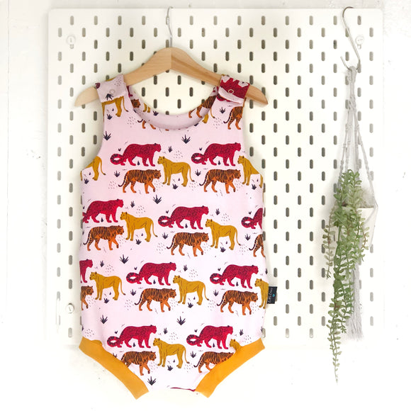 Big Cats summer romper