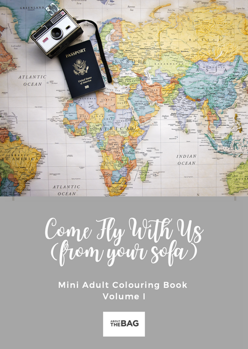 Free Mini Adult Travel Colouring Book