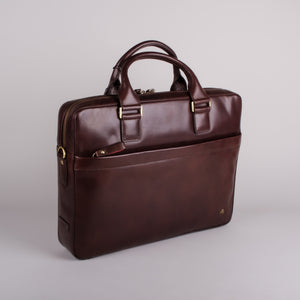 Visconti Victor Brown Laptop Bag