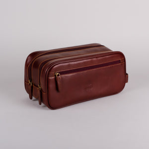 Visconti Naples Brown Wash Bag