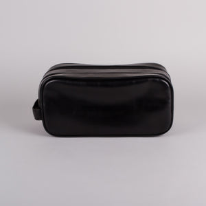 Visconti Naples Black Wash Bag