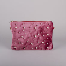Dimple Ramaiya Aurora Clutch in Blush