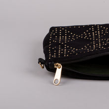 Dimple Ramaiya Luna Clutch in Black