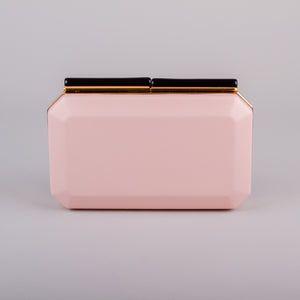 Dimple Ramaiya Nova Clutch in Pink