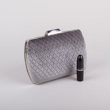 Dimple Ramaiya Astra Clutch in Grey