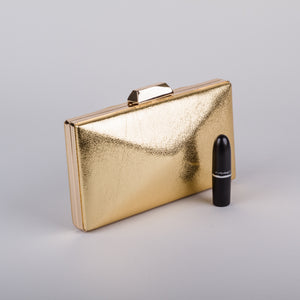 Dimple Ramaiya Celeste Clutch in Gold