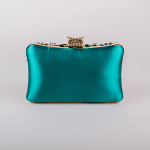 Dimple Ramaiya Zena Clutch in Green
