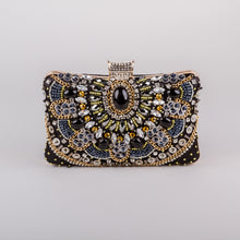 Dimple Ramaiya Zena Clutch in Black