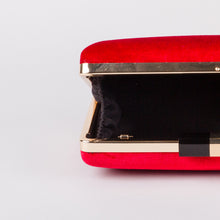 Aspen Fox Lippy Clutch in Red