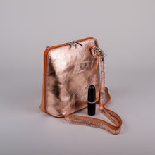 Betulla Sofia Crossbody in Rose Gold
