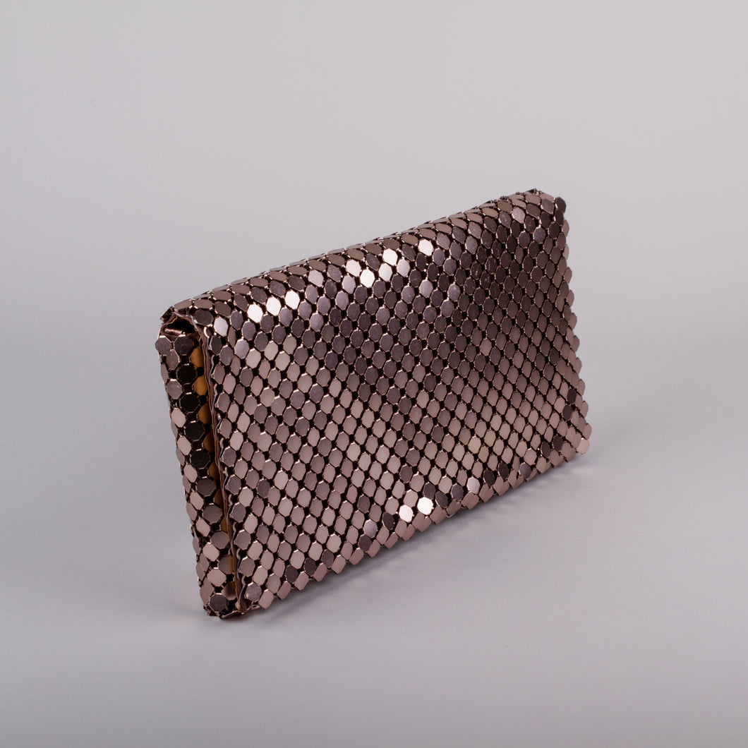 Sweetgum Riley Clutch in Bronze
